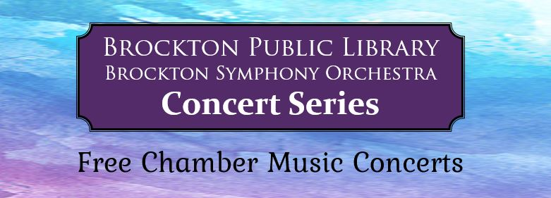 Chamber Concerts at the Brockton Public Library